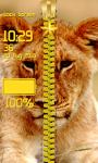 Lion Zipper Lock Screen Best screenshot 6/6