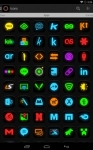 Neon Glow - Icon Pack absolute screenshot 2/6
