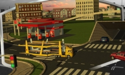 3D Car Transport Trailer  general screenshot 2/6
