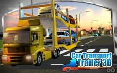 3D Car Transport Trailer  general screenshot 3/6
