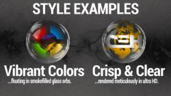 Smoke  Glass Icon Pack select screenshot 5/6