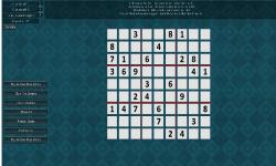 Free Sudoku-Blue Fire Games screenshot 2/3