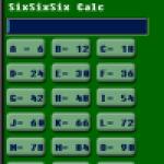 J666Calculator screenshot 2/2