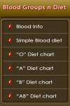 Blood Groups n Diet screenshot 1/1