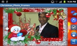 Christmas Photoframe Free screenshot 2/3