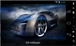 Awesome HD Car Live Wallpapers screenshot 3/4