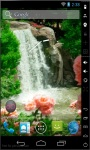 Waterfall And Roses Live Wallpaper screenshot 2/2