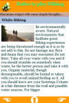 Rules to play Hiking screenshot 4/4