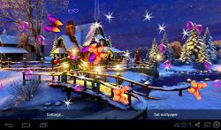 3D Christmas Live Wallpapers screenshot 1/4
