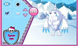 Abbeys Snow Monster Design screenshot 3/4