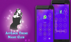 Night Club Applock Theme screenshot 1/6