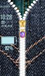 Jeans Zipper Lock Screen Best screenshot 6/6
