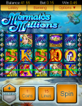 Mermaids Millions by All Slots Mobile Casino screenshot 2/3