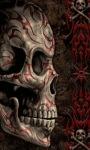 Skull Blazzing Live Wallpaper screenshot 1/3