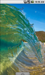 Beach Surf Wave Live Wallpaper screenshot 2/4