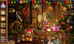 Free Hidden Object Game - Christmas at the Mansion screenshot 3/4