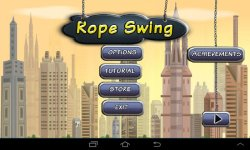 Rope Swing Flying City screenshot 1/4