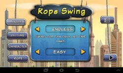 Rope Swing Flying City screenshot 2/4