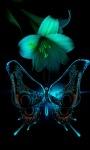 Lilly Butterfly Live Wallpaper screenshot 1/3