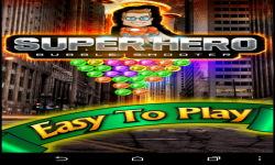 Bubble Shooter Super Hero screenshot 1/6