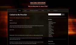 SILM Devotions screenshot 1/4