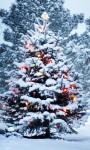 Beautiful Christmas Tree Live Wallpaper screenshot 1/3