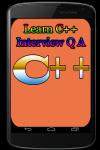 Learn Cplus Interview Q A screenshot 1/3