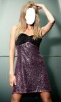 Girl Short Dress Photo Montage Top screenshot 1/6