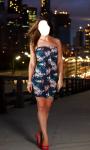 Girl Short Dress Photo Montage Top screenshot 3/6