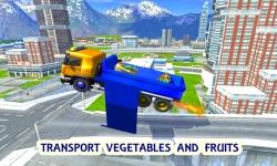Flying Truck Flight Driving screenshot 1/3