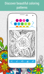 Coloring book for Adults HOLI screenshot 2/6