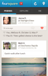 Foursquare screenshot 1/5