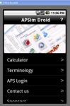 APSSIm Droid screenshot 1/1