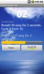 Anti-stress Breath Exercise screenshot 1/2