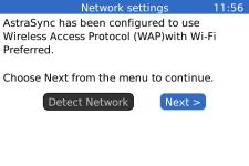 AstraSync Exchange ActiveSync for Blackberrys screenshot 4/4