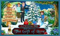 Free Hidden Object Games - The Gift of Love screenshot 1/4