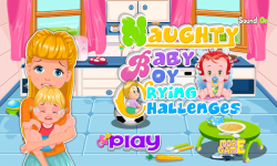 Naughty Baby Crying Challenges screenshot 1/5