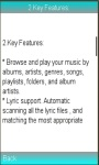 Music Player / Audio Player manual screenshot 1/1