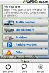Policeradar and Parking alert screenshot 1/1