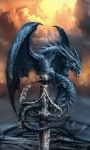Fantasy Dragon Live Wallpaper screenshot 3/3