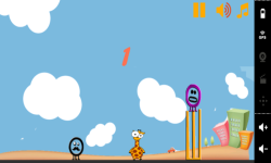 Funny Giraffe Run screenshot 1/3