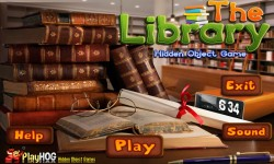 Free Hidden Object Games - The Library screenshot 1/4