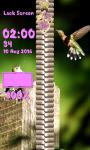 Zipper Lock Screen Hummingbird screenshot 6/6