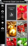 Best Christmas Zipper Lock Screen screenshot 4/6