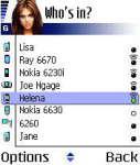 MobiLuck Bluetooth Messenger for Symbian S60 screenshot 1/1