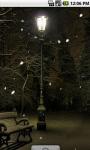 Winter Season snow Live Wallpaper screenshot 1/4