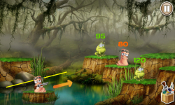 Worms VS Frogs screenshot 1/4
