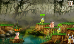 Worms VS Frogs screenshot 2/4