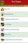 Tea Types  screenshot 2/3