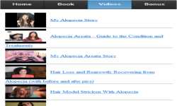 Alopecia App screenshot 3/3
